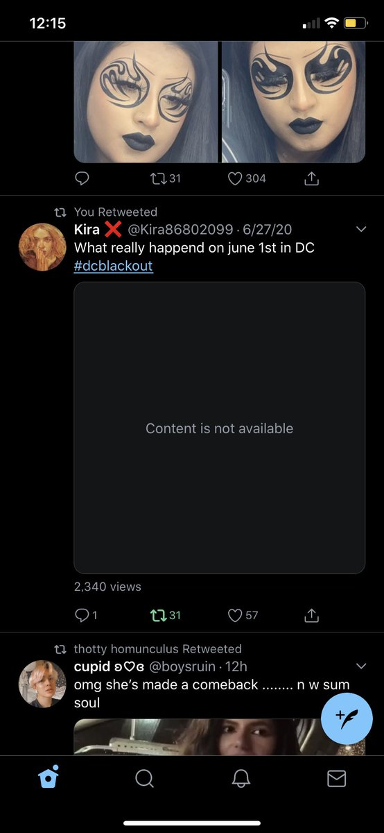 video evidence from the #dcblackout that i saw hours ago and retweeted has now been removed. voices are being silenced for trying to find missing protestors because we have discovered the atrocities being done to them.