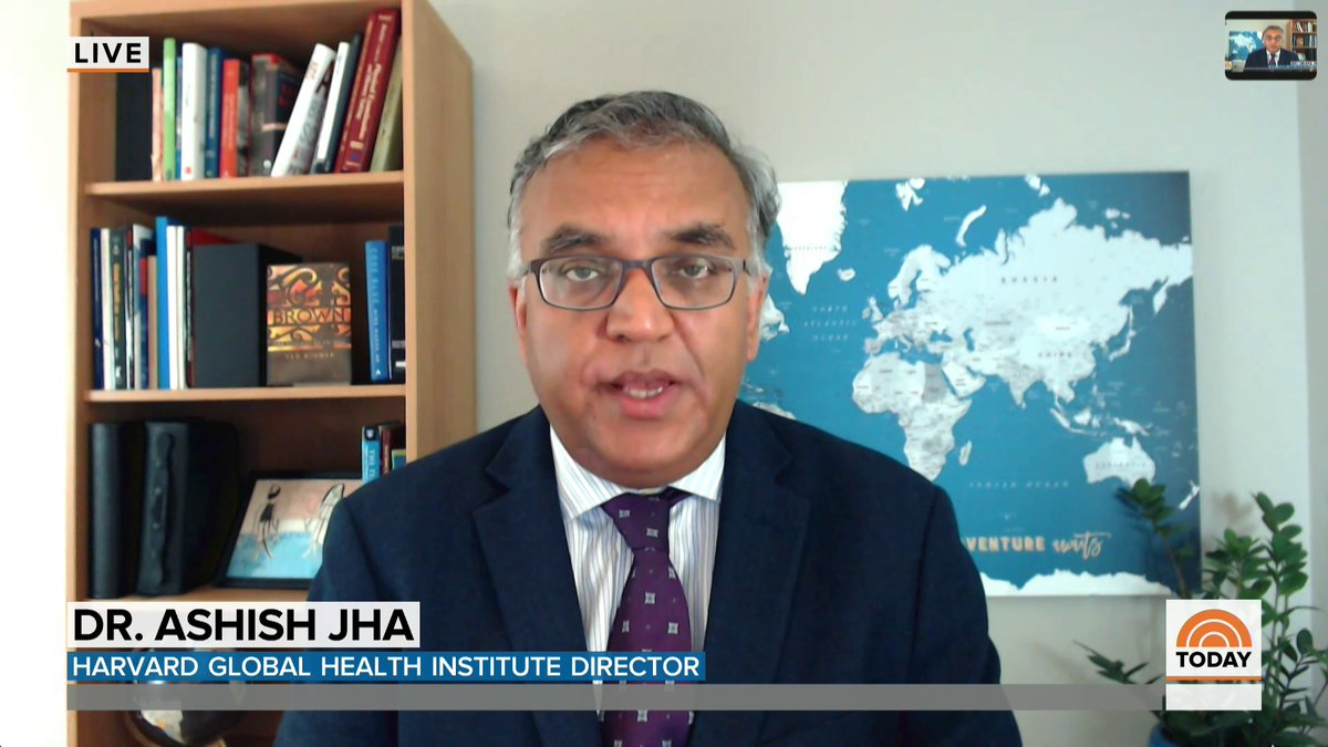 """""""At some point we are going to run out of all of our capacity, our ability to take care of people,"""" @ashishkjha says about hospitals being pushed to the brink as coronavirus cases skyrocket."""