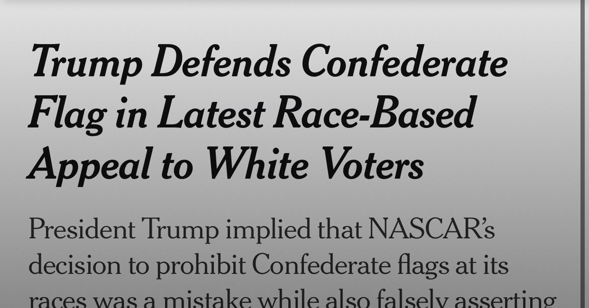 "Hmmm a ""race-based appeal to white voters"" Whatever does she mean?   Utter embarrassment."