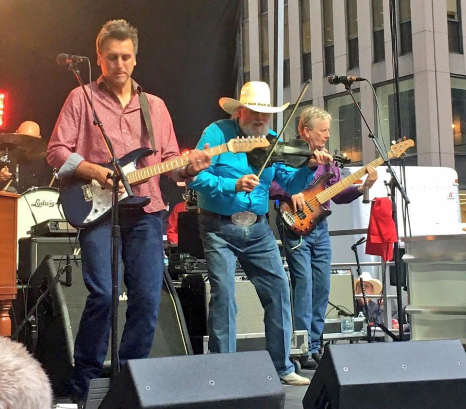 He played our @foxandfriends summer concert series many times and was one of the few musicians who kept on playing throughout the whole show/ during commercial breaks. Our fans loved him and he was so kind.  We'll miss you @CharlieDaniels. Rest In Peace. 💔🙏🏻