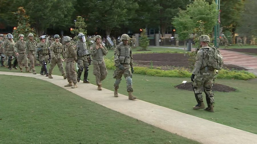 #BREAKING NEWS: Gov. Kemp to sign executive order authorizing 1,000 National Guard troops to Atlanta:  LIVE coverage on Channel 2 Action News
