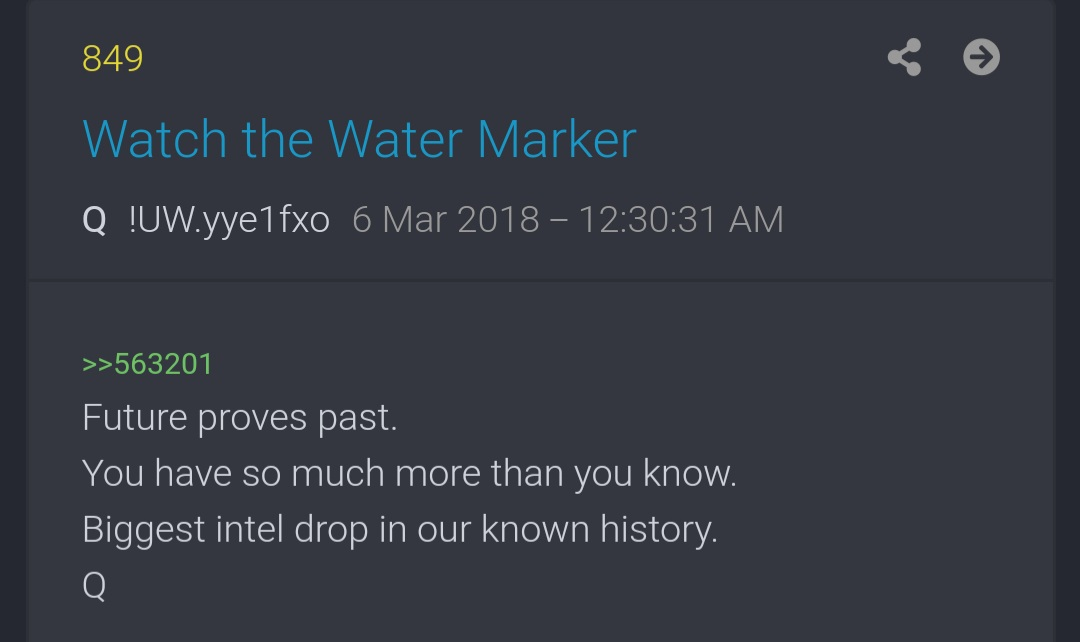 @Breaking911 It is Biblical. Q POST- 849 Watch the Water Marker.  #WWG1WGA #QAnon #WWG1WGAWORLDWIDE #QANONWORLDWIDE #GhislaineMaxwell #DigitalSoldiers