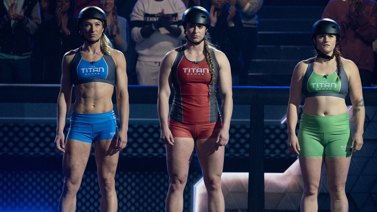 These fierce #TitanGames competitors are bringing the heat, literally. 🔥 Don't miss an all-new episode of @nbctitangames tonight.