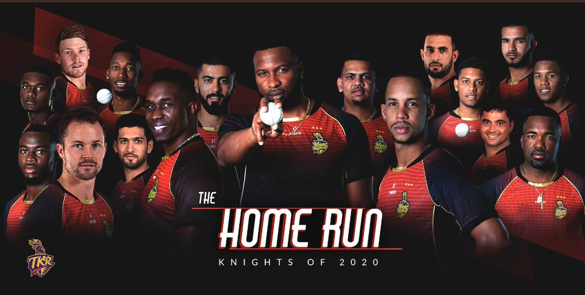 Super Excited 😍 to get the land of the Champions 🇹🇹 and join back my team @TKRiders for the @CPL, Really looking forward to play some quality cricket 🏏 and sharing the dressing room with some amazing people. #biggestpartyinsports #TKRfamily #CPL2020 #landofchampions 🇹🇹