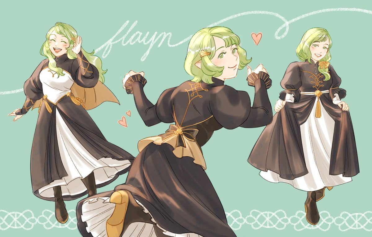 love these two 🥺💚💚💚 #Flayn #seteth #FE3H #FireEmblemThreeHouses