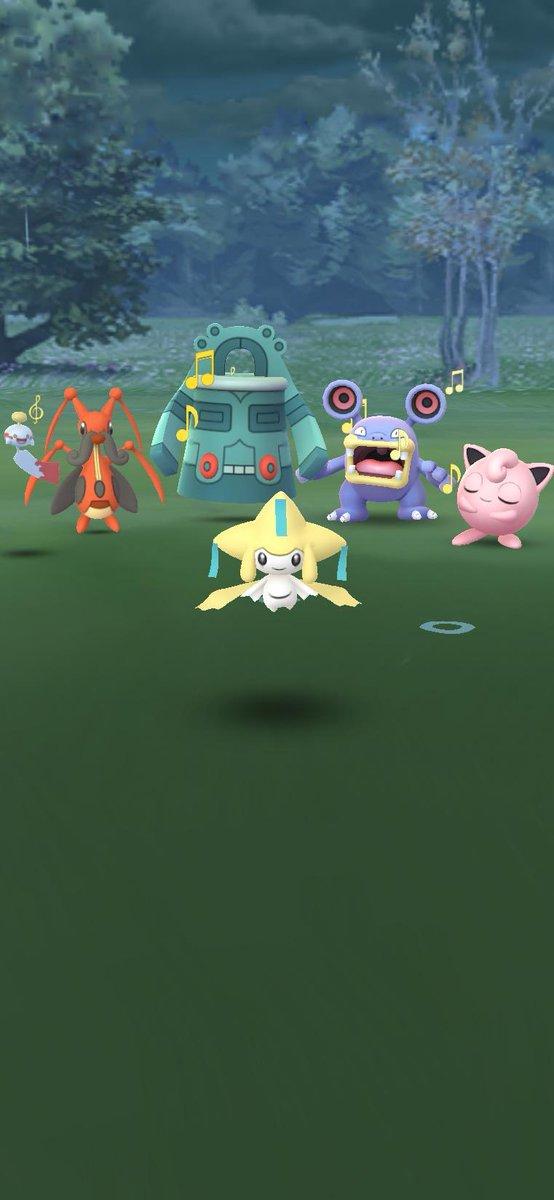test ツイッターメディア - 苦節1年、ようやく我がポケモンGOにジラーチをお迎えした。出会った日(捕獲日)が七夕って....素敵やん?  個体値的にいうならまあそこそこ。 ぜってぇ最後まで育て切ってやるからな覚悟しとけよ!  #ポケモンGO #PokémonGO https://t.co/2byvYo1iz5