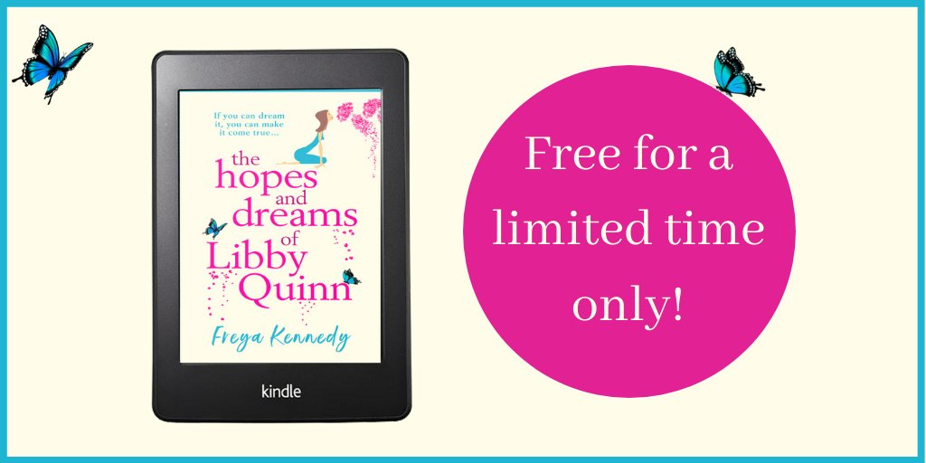 Still free on #Kindle  The Hopes & Dreams of #LibbyQuinn  #TuesNews @RNAtweets