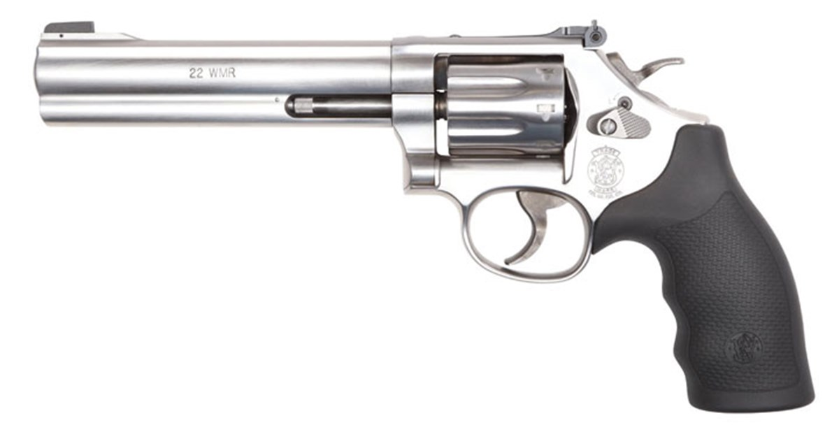 Tested: Smith & Wesson Model 648 .22 WMR Revolver— #SmithandWesson #SandW #Model648 #22WMR #Revolver #Pistol #Handgun