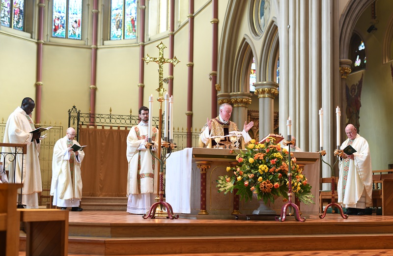 """test Twitter Media - It was a great weekend - a number of parishes reopened for Mass and the Sacraments and we had the ordinations of Fr Matthew King and Deacon Anthony Fyk. This is a great blessing to our Diocese: please pray for them as they """"settle in."""" Read more in e-News: https://t.co/FtBKw8QKuA https://t.co/jP0t0N6sA6"""