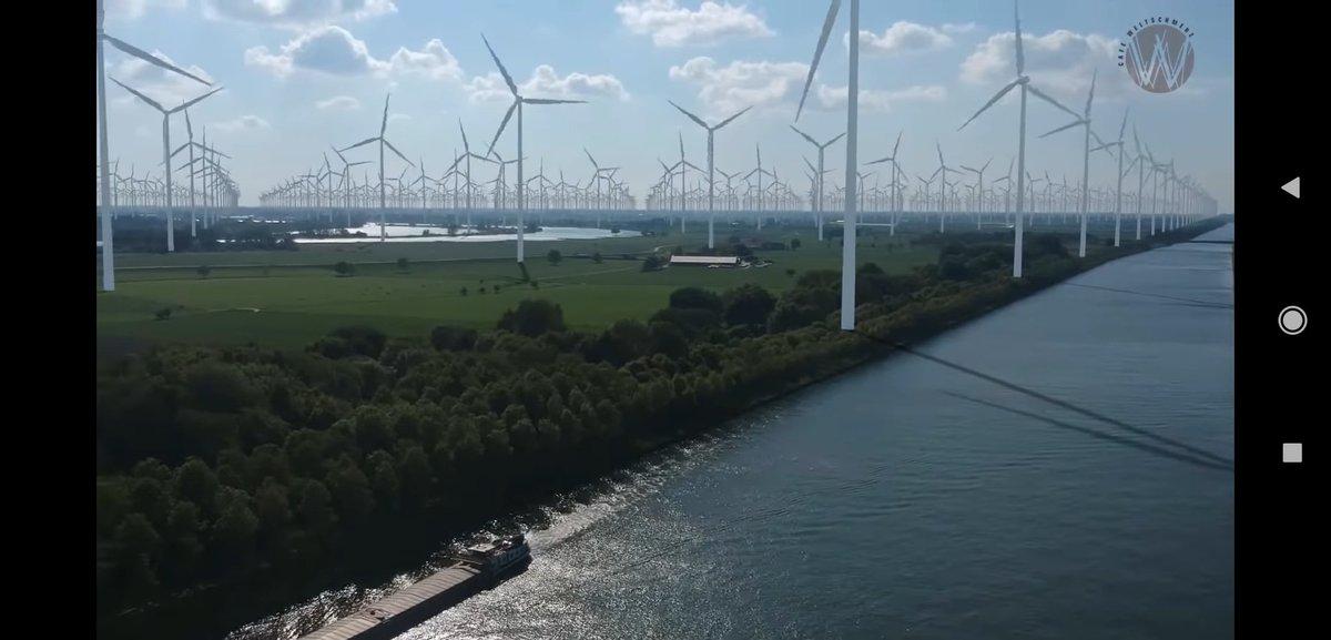 test Twitter Media - Dit is hoe heel Nederland er uit komt te zien bij ± 80GW groene energieproductie. De werkelijke energie behoefte ligt rond de 120GW. #energietransitie https://t.co/XzAlCpSJmT