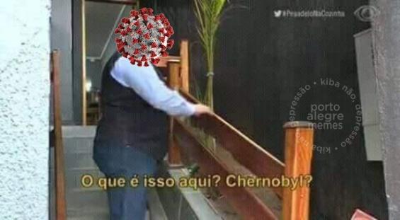 Corona dentro do Bolsonaro