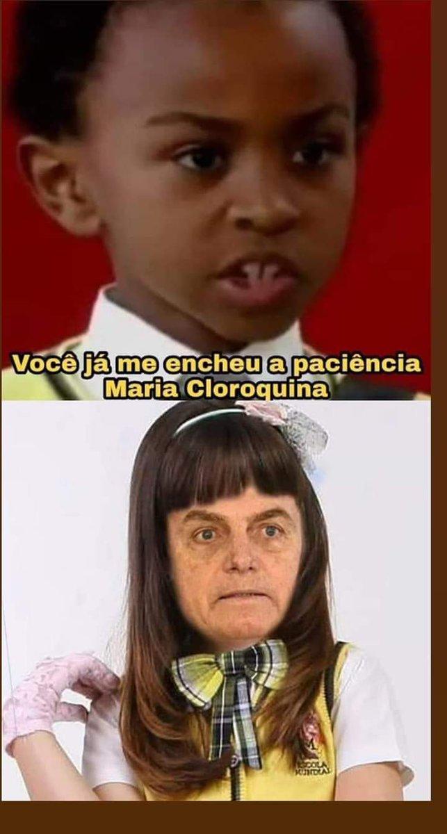 aconteceu oq todo mundo esperava, Bolsonaro diz estar com corona pra promover a cloroquina