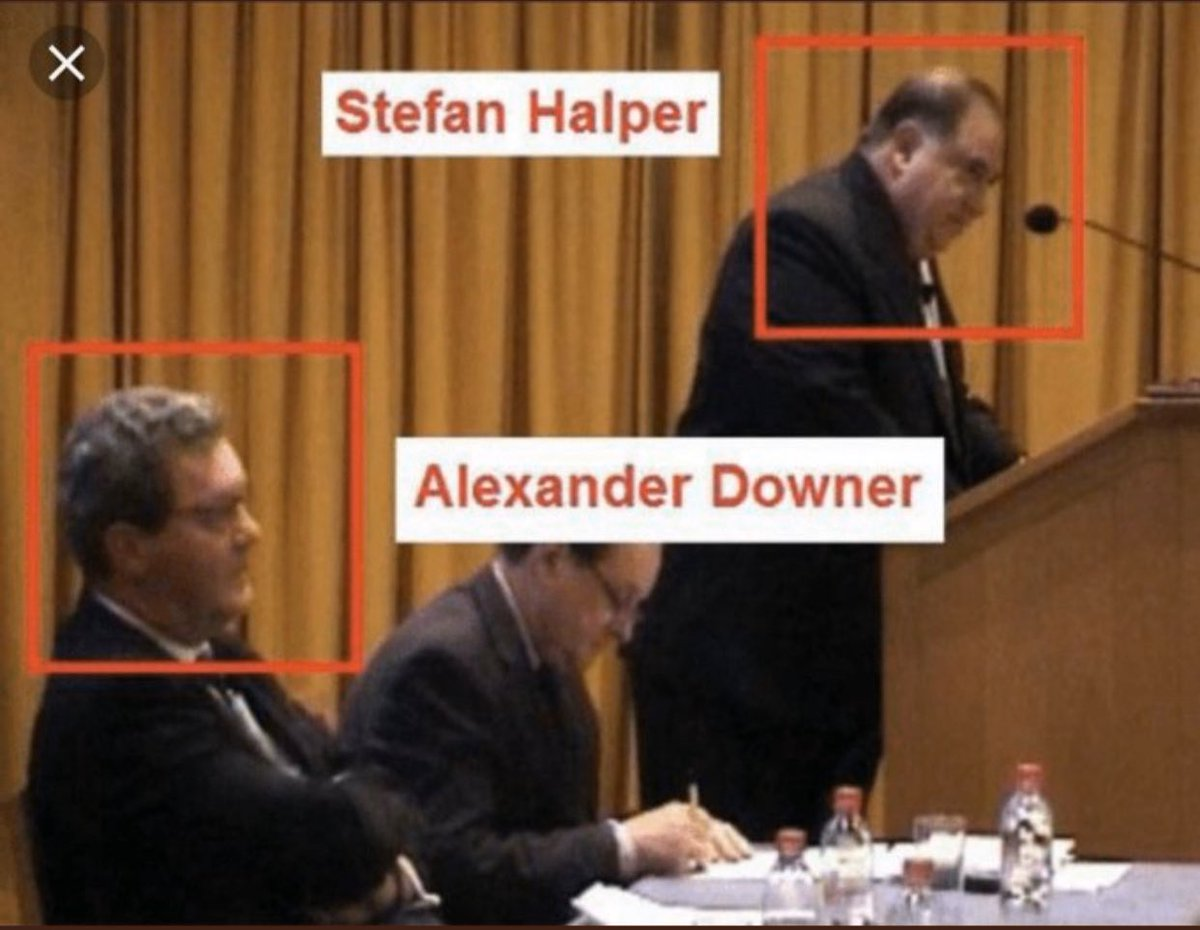 Keep  focused on these two individuals: Alexander Downer (represents Australia's spying on the campaign) and Stefan Halper. Who instructed them to spy on me and the try to sabotage the campaign could have only come from Brennan/Clapper. Their names will be in headlines soon