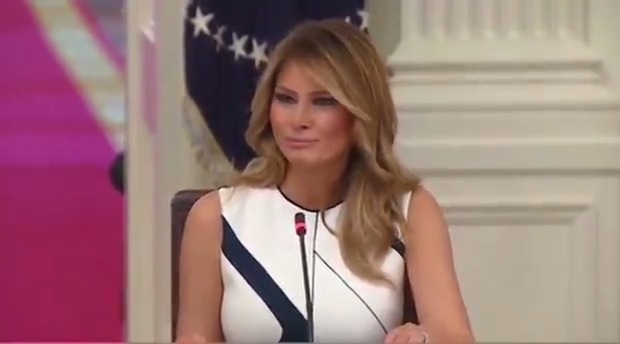 """First Lady Melania Trump: """"Children's mental health and social development must be as much of a priority as physical health."""""""