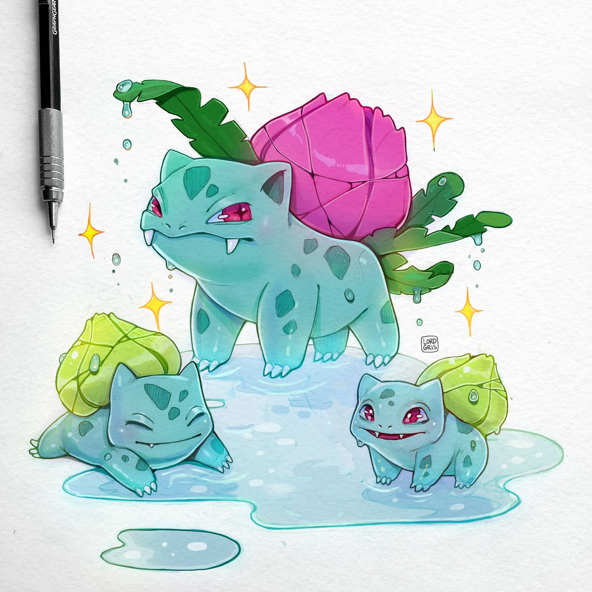 Who is your favorite Pokémon and why is it bulbasaur #pokemon #bulbasaur