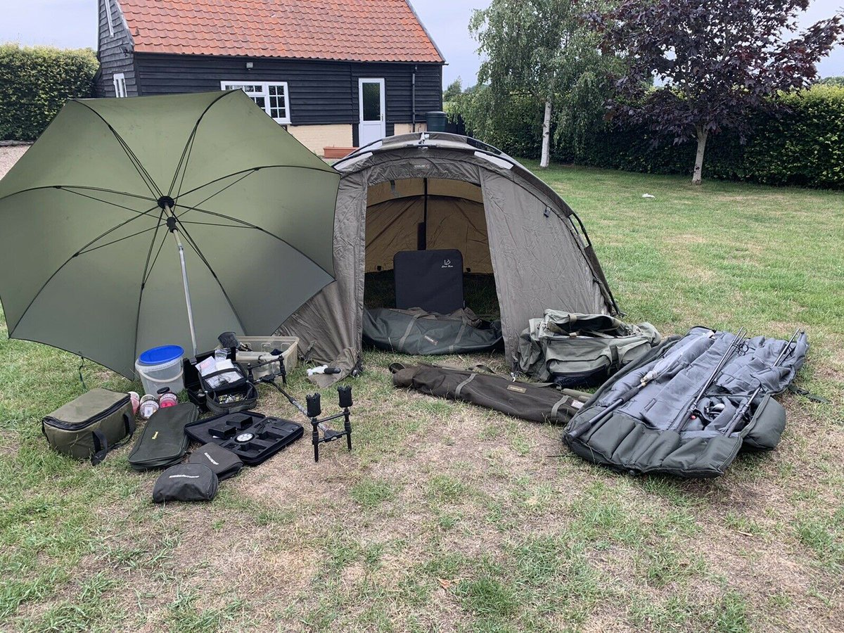 Ad - Carp fishing tackle set up for sale On eBay here -->> https://t.co/ouw5oNIHPW  #<b>Carp</