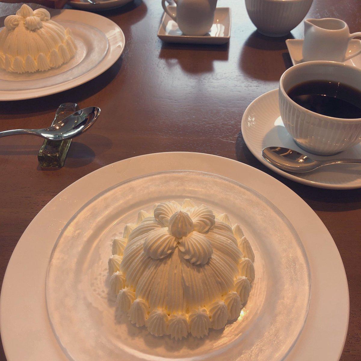 test ツイッターメディア - マロンシャンテリーが美味しすぎたっ💕 #東京會舘 #マロンシャンテリー https://t.co/yn1TnTFoKm