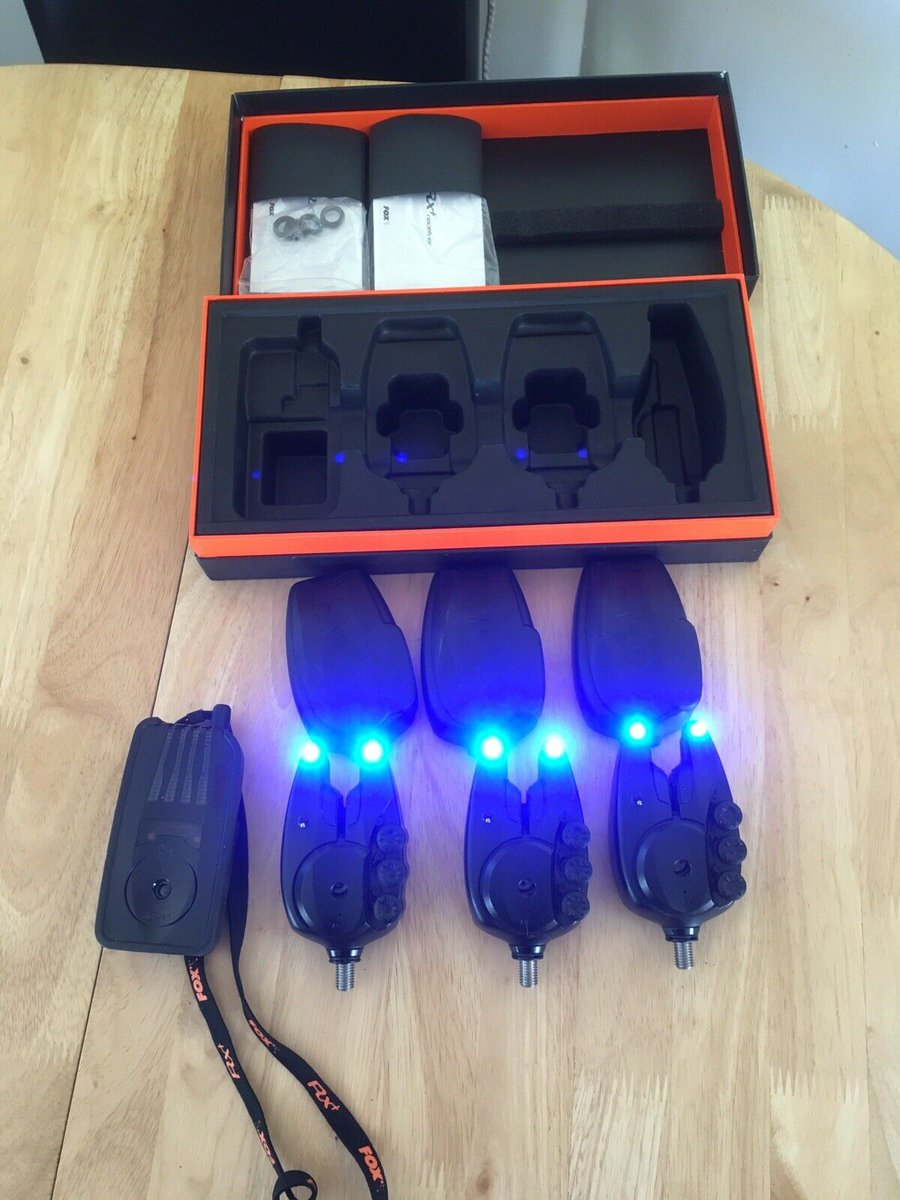 Ad - Fox RX+ Plus 3-Rod Set With Receiver On eBay here -->> https://t.co/Xyo5sL44kv  #carpfish