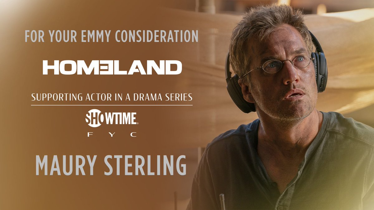Because he's changing a diaper right now, here's a reminder that @MaurySterling is still very fancy. ❤️🙌#FYC #Emmys2020 @SHO_Homeland