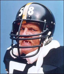 """""""If I could start my life all over again, I would be a professional football player, and you damn well better believe I would be a Pittsburgh Steeler.""""  Happy birthday, Mr. Lambert. @steelers"""
