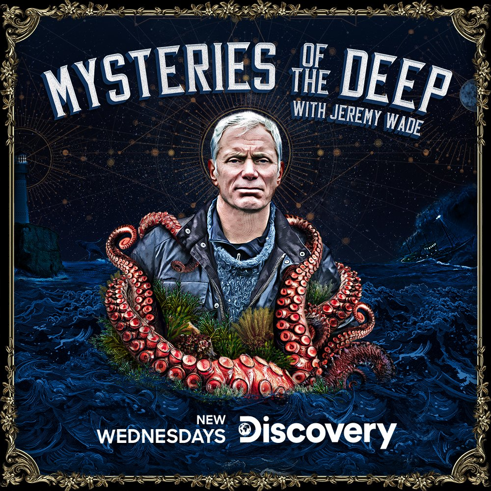 We've all heard UFO stories, but could new sightings reveal alien craft lurking in our oceans? Tune into #MysteriesoftheDeep with #JeremyWade #tonight 10PM @Discovery #MOTD #NotFootball https://t.co/S8FYBXcGzg