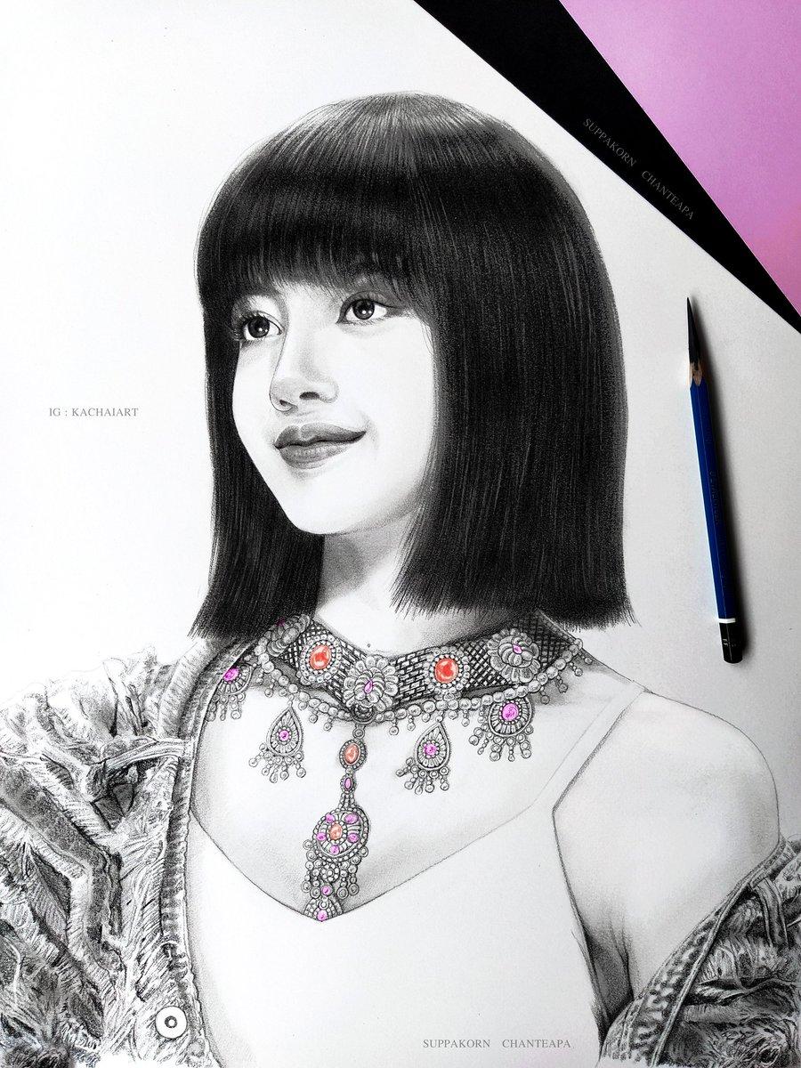 วาด ลิซ่า แบล็กพิงก์   🐱💘🐈 Drawing Lisa BLACKPINK  'How You Like That'  :  pencil EE  @BLACKPINK @ygofficialblink 🖤 💗 #LISA #Lisafanart #블랙핑크  #BLACKPINK  #리사   #lisablackpink #HowYouLikeThat  💖ฝากผลงานด้วยครับ IG : KACHAIART