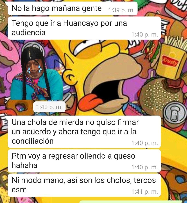 Los chats del nuevo ministro de Trabajo Martín  Ruggiero @MTPE_Peru lo describen como una persona indolente y racista. Allí tienen a su nuevo defensor de la clase trabajadora.