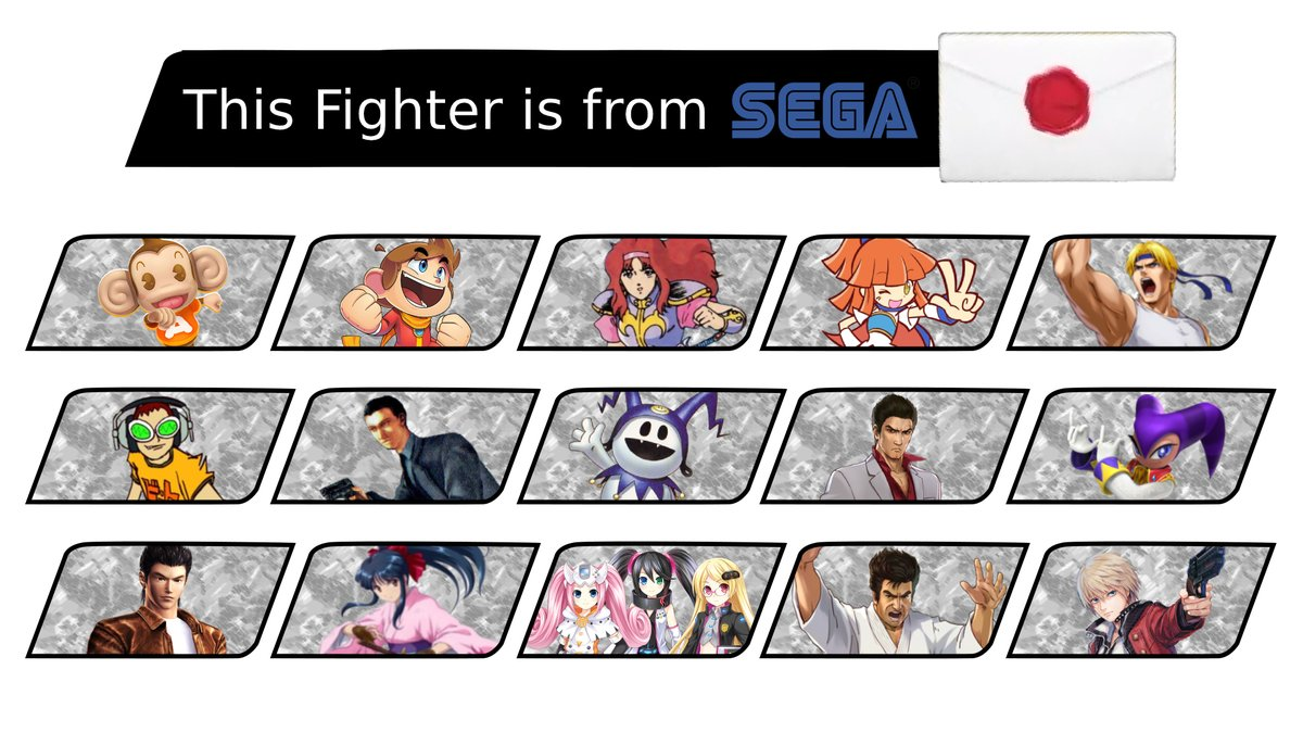 This appears in the next Direct, who are you hoping for?  #SEGA #SmashBrosUltimate