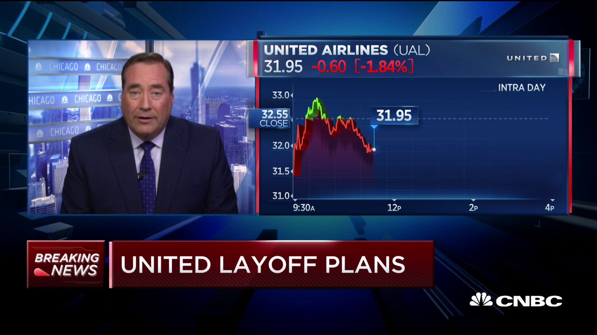 United is warning about 36,000 frontline employees about potential job cuts.