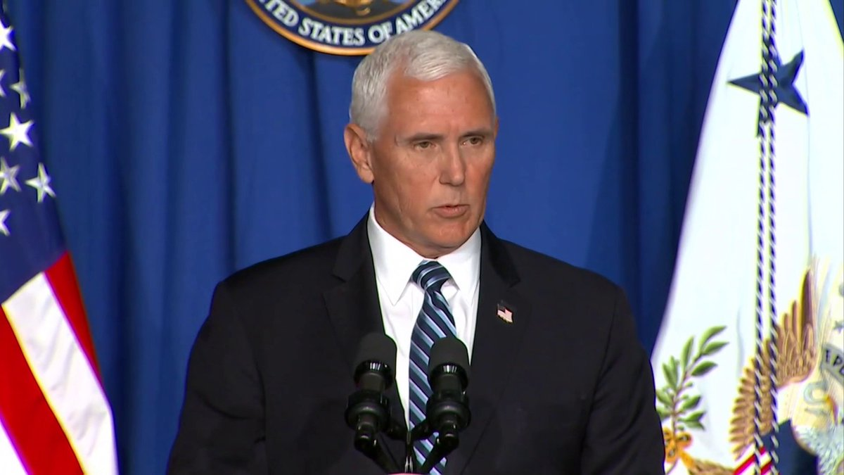 """""""We're putting into practice those mitigation efforts."""" Vice President Mike Pence says the methods the Northeast and several other states across the country practiced can work for states that are seeing surges in cases like Florida and Texas."""