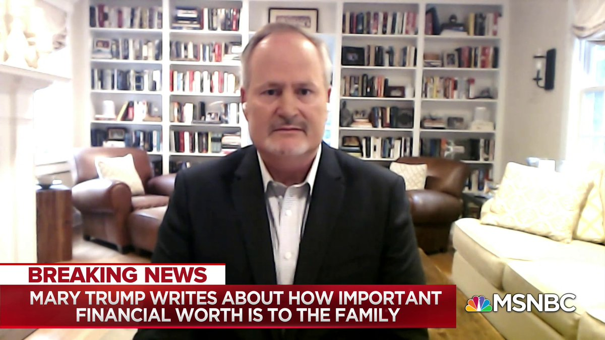 """""""Trump's actions, a lot of his acting out, is he feels aggrieved, and what's remarkable about this is, this is someone who was born into an affluent family, had every advantage in the world and he feels aggrieved nonetheless"""" - @TimOBrien w/ @NicolleDWallace"""