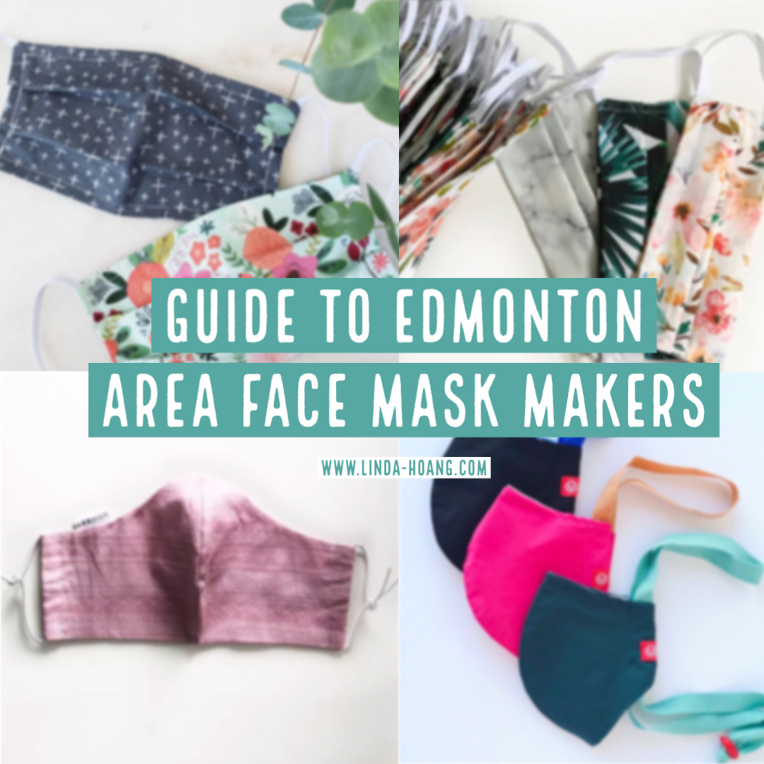 New Blog Post!! I've been trying a lot of different face masks from a lot of local makers and am happy to put together this Guide to Edmonton Area Face Mask Makers:  Share others and I'll add to the list!   I also rank my top 3 favs! 🥰 #yeg #WearAMaskYEG