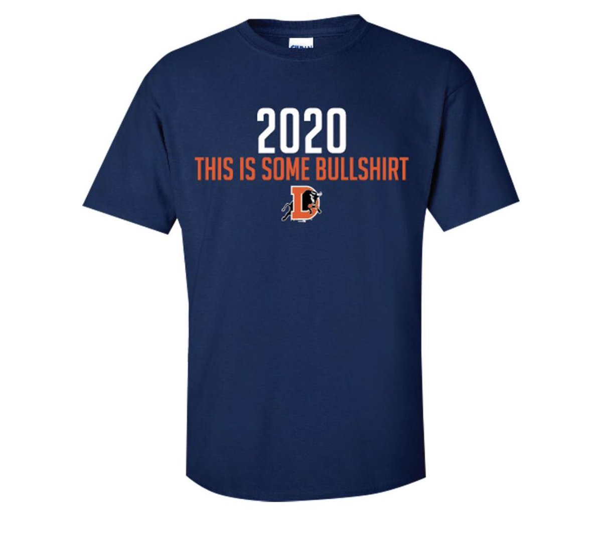 Great shirt from the @DurhamBulls ($23)