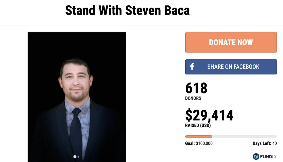 THANK YOU to 618 grass-roots donors who #StandWithStevenBaca - 25% of the way to our goal, which is to raise as much for Steven as George Soros donated to pro-mob DA Raul Torrez in ABQ. Let's cross $30,000 TONIGHT ==>  #2A #DefendOurMonuments