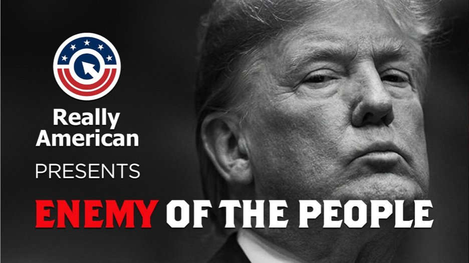 TWEEPS: Can we get 5,000 retweets for this video, to let #CreepyTrump know that he's the #EnemyOfThePeople?  LET'S DO THIS!!!