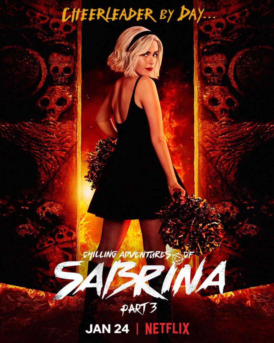 Chilling Adventures of Sabrina é oficialmente CANCELADA pela Netflix.  A parte 4 terá 8 episódios e será exibida no final de 2020.