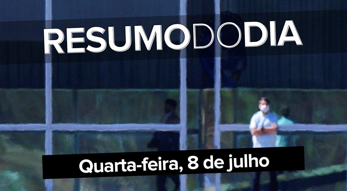Bolsonaro isolado no Planalto, Facebook remove contas falsas ligadas ao PSL e à família do presidente, e o que leva as influenciadoras digitais a ficarem cada vez mais parecidas; veja o que foi notícia ==>  #G1 #ResumoDoDia