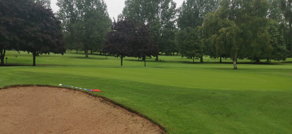 test Twitter Media - 22mm of overnight rain @IngestreParkGC  looks like better weather on the way though.  Greens cut and rolled today and the mowers should be back on fairways and rough later.  Well done team. @IanDaviesEEEgol https://t.co/c569fy2USv