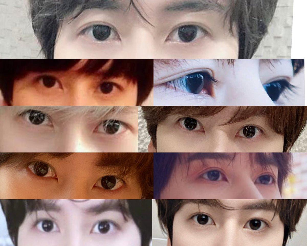 I'm so obsessed with kyuhyun's baby eyes. His pupils are really big n hv a deep black color. ❤❤❤ @GaemGyu #SUPERJUNIOR #SuperJuniorKRY #슈퍼주니어 #KYUHYUN #규현 @SJofficial