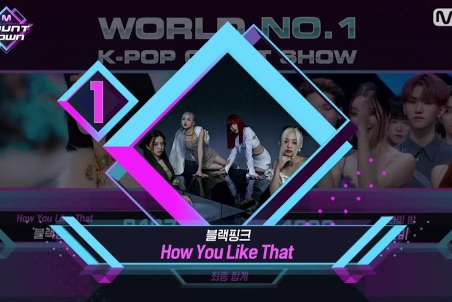 """WATCH: #BLACKPINK Grabs #HowYouLikeThat3rdWin On """"M Countdown""""; Performances By #Sunmi, #StrayKids, #Chungha, And More"""