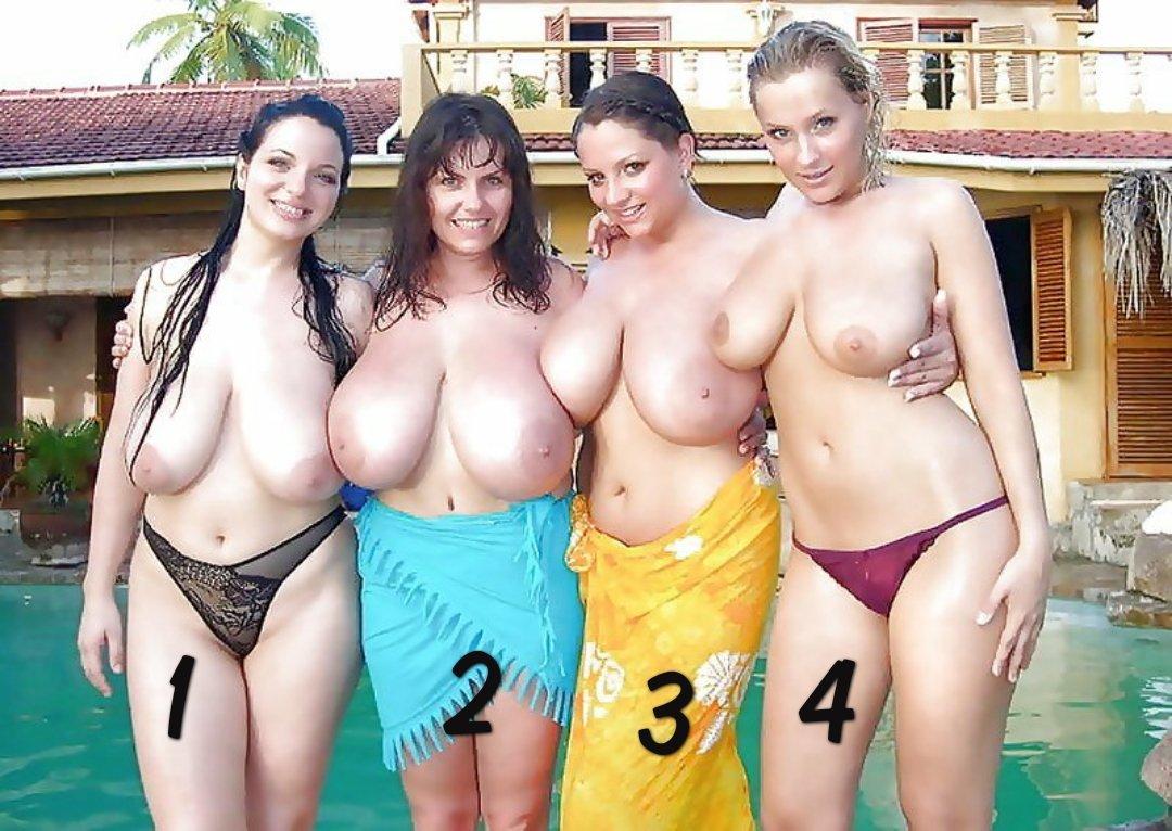 What is your favorite girl ? If you choose a number, please Retweet! So everyone can vote.  #bigboobsfansite #bigboobs #tits #hugetits #naturaltits #hugeboobs