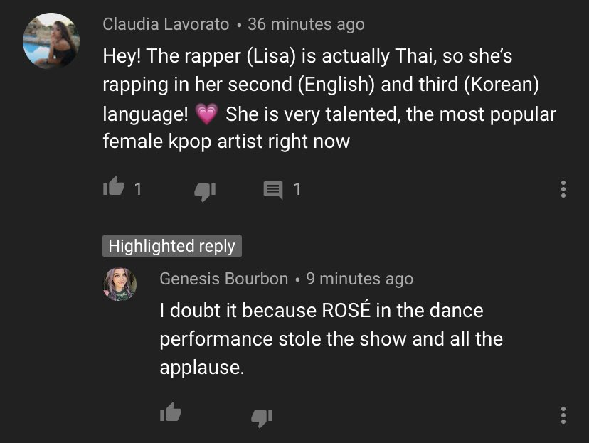 LiLiES please report this accounts. This are a crazy obsessed antis that comes under every Lisa comments on YouTube in every video. It's hard to compliment L*sa now without them pushing their agenda.  🔗  🔗 🔗