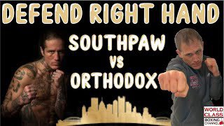 Just released on my World Class Boxing Channel. I teach how #defend and #counter the #righthand if you're a #southpaw fighting an #orthodox  Watch this video on YouTube by clicking the link below or swiping up on my story! #tomyankellosworldclassboxing