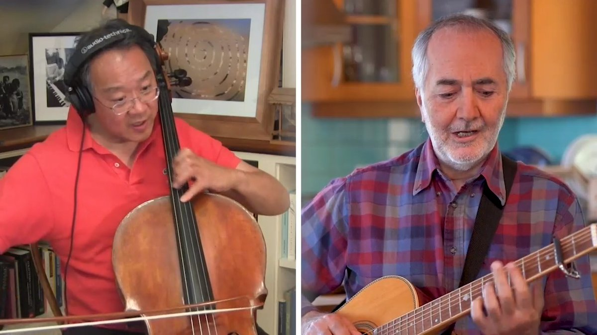 "I'm honored to join @Raffi_RC to celebrate 40 years of ""Baby Beluga,"" and to call on each of us to work together for a sustainable future where life under the sea can swim wild & free. #songsofcomfort #songsofchange @GlobalGoalsUN #SDG14 #belugagrads"