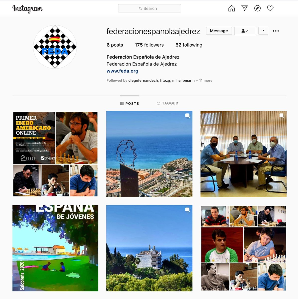 test Twitter Media - The Spanish Chess Federation has launched a new Instagram account: https://t.co/GR25jj5U43 https://t.co/YAKSpKCZ6R