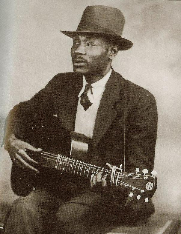 Today is Blind Boy Fuller's birthday. Born Fulton Allen, he was one of the most popular North Carolina blues musicians of the 1930s.  He gained a large following playing in Hayti and Durham's tobacco warehouses, recording more than 120 songs during his career.