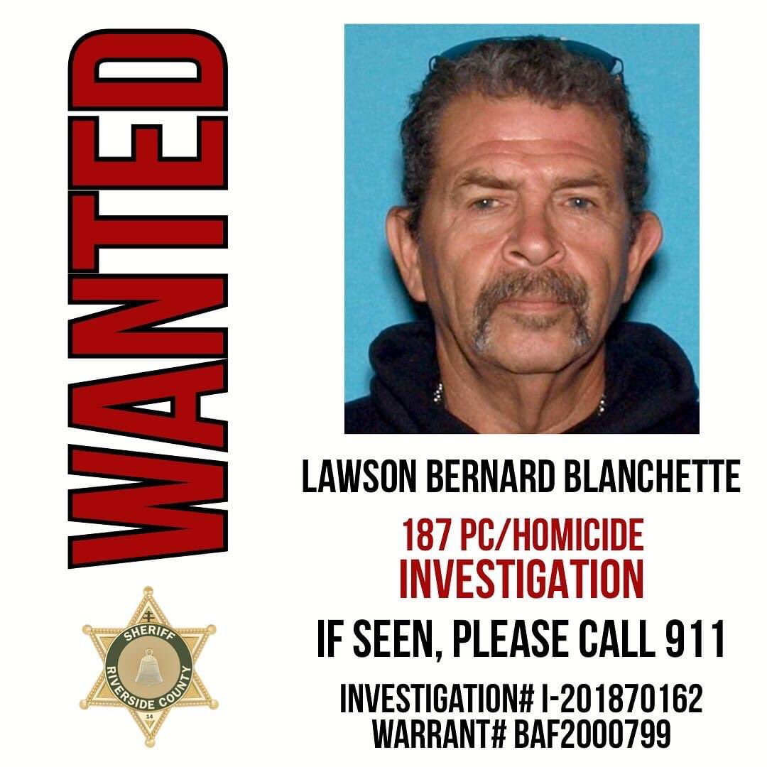 I NEED EVERYONES HELP. THIS MAN MURDERED MY MOTHER OVER THE 4 TH OF JULY WEEKEND. PLEASE IF YOU SEE HIM OR HAVE ANY INFORMATION ON HIM INFORM THE RIVERSIDE COUNTY SHERIFFS DEPARTMENT. PLEASE HE MURDERED MY MAMA. PLEASE HELP.