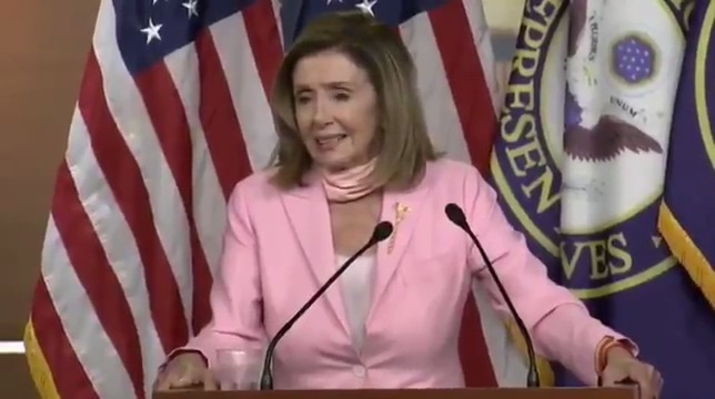 """People will do what they do."" - Speaker Pelosi finally comments on the mob violence and property destruction happening in cities across America."