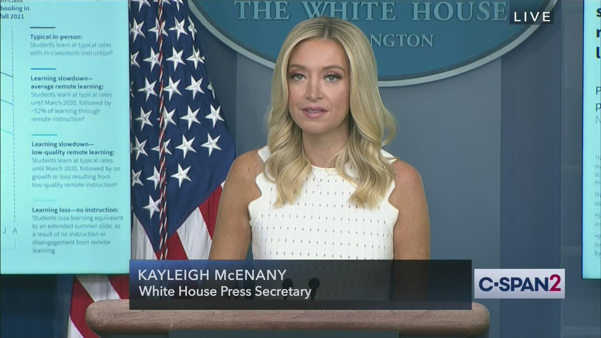 White House @PressSec Kayleigh McEnany briefs reporters at the White House – LIVE on C-SPAN2