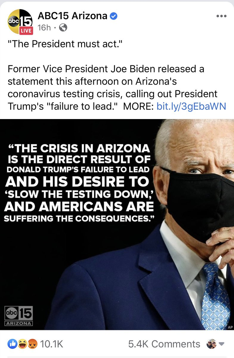 Does this look like #News or a Democrat #PoliticalAd from @abc15? Where's the #FEC? 🤔